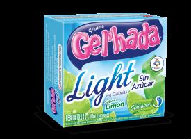 Gelatina Light sabor a Limón